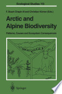 Arctic and Alpine Biodiversity  Patterns  Causes and Ecosystem Consequences