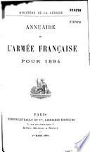 Annuaire de l'armée française