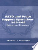 NATO and Peace Support Operations  1991 1999