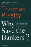 Book Why Save the Bankers?