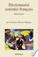 Dictionnaire sonink   fran  ais