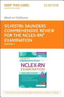 Saunders Comprehensive Review for the NCLEX RN Examination   Evolve Access