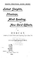 Ebook Latest sleights, illusions, mind reading, and new card effects Epub R. D. Chater Apps Read Mobile