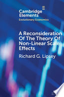 A Reconsideration Of The Theory Of Non Linear Scale Effects