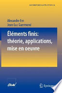 illustration Éléments finis: théorie, applications, mise en oeuvre
