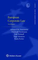 European Corporate Law