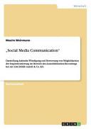 """""""Social Media Communication"""""""