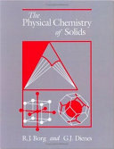 The Physical Chemistry of Solids
