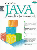 Core Java Media Framework