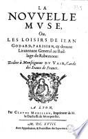 La Nouvelle muse  ou Les Loisirs de Iean Godard       L H fran  oise