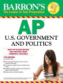 Barron s AP U  S  Government and Politics  7th Edition Tips On Essay Writing And Includes Two Full Length