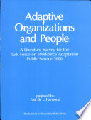 Adaptive Organizations and People