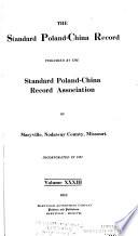 The Standard Poland China Record Book PDF