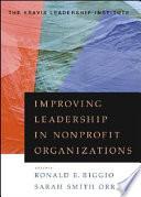 Improving Leadership in Nonprofit Organizations