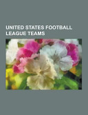 United States Football League Teams
