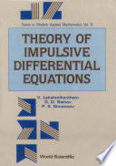 Theory Of Impulsive Differential Equations book