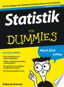 Statistik f  r Dummies