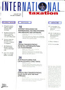 The Journal of International Taxation