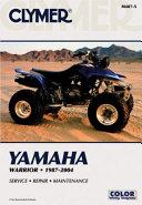 Yamaha Warrior 1987 2004