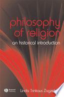illustration du livre The Philosophy of Religion