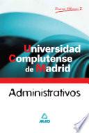 Administrativos de la Universidad Complutense de Madrid  Temario  Volumen Ii ebook