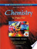 New Coordinated Science  Chemistry Students  Book