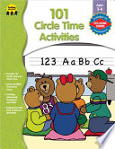 101 Circle Time Activities  Ages 3   6
