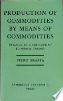 Production of Commodities by Means of Commodities