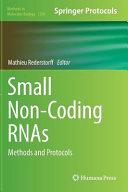 Small Non Coding Rnas
