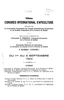 Proceedings   International Apicultural Congress