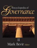 Encyclopedia of Governance