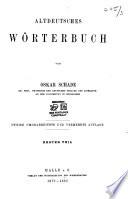 Altdeutches wörterbuch