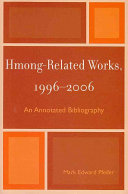 Hmong-related Works, 1996-2006