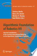 Algorithmic Foundation of Robotics VII
