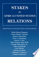 Stakes in Africa United States Relations