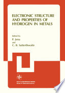 Electronic Structure and Properties of Hydrogen in Metals