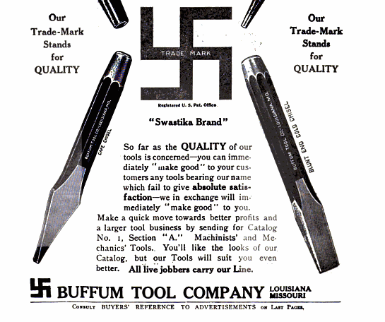 [1910 Advertisement for Buffum Tool Company]