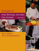 Principles Of Food Beverage And Labor Cost Controls