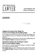 The practical lawyer