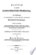 Handbuch der gesammten landwirthschaftlichen Buchhaltung