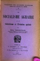 Le socialisme agraire