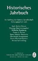 Historisches Jahrbuch 131. Jahrgang 2011