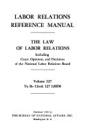 Labor Relations Reference Manual