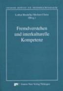 Fremdverstehen und interkulturelle Kompetenz