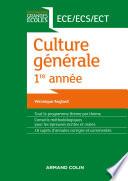 Culture générale 1re année ECE/ECS/ECT