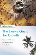The Elusive Quest for Growth Tried To Figure Out How Poor