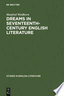 Dreams in seventeenth century English literature