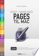 Godt i gang med Pages til Mac