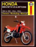 Honda Mbx Mtx 125 Mtx200