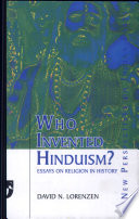 Who Invented Hinduism
